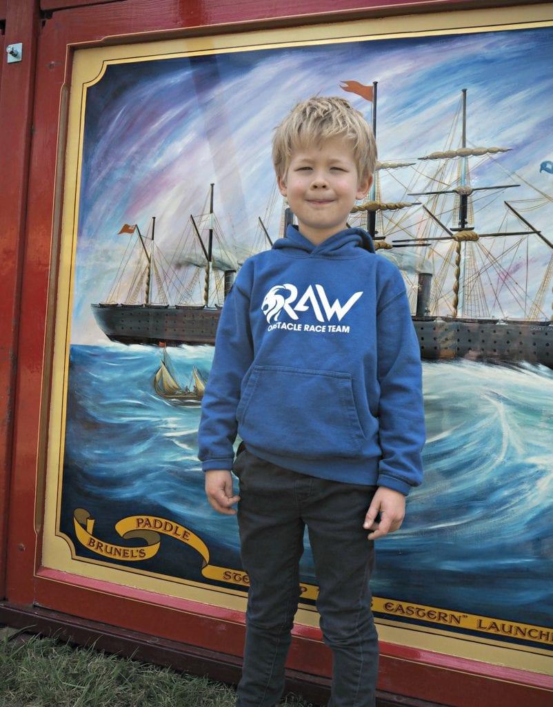 Logan at Carter's Steam Fair
