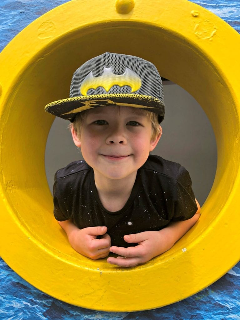 Logan at Legoland