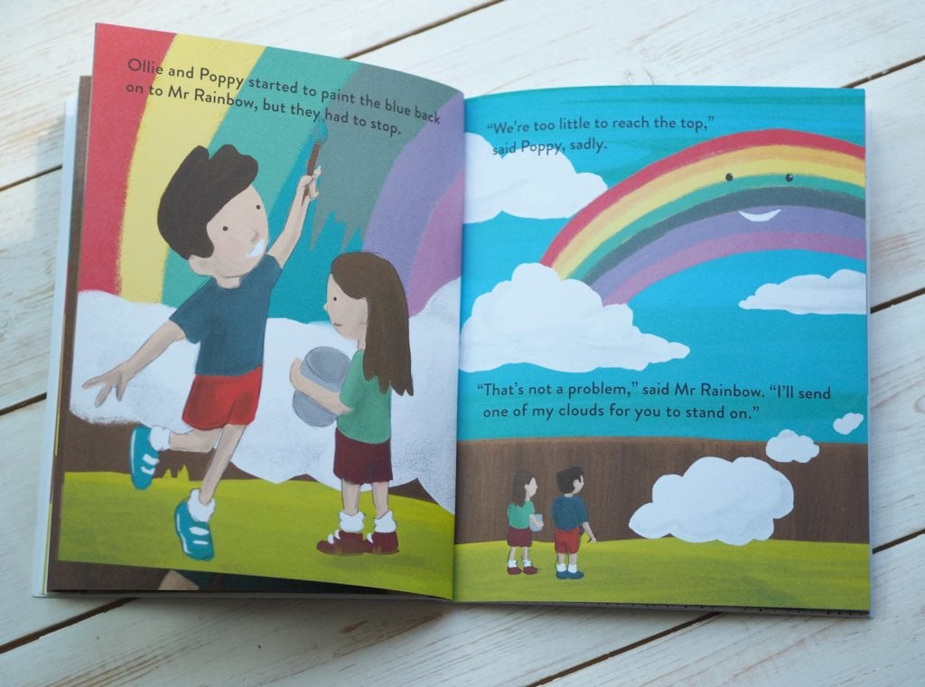 Mr Rainbow - rainbow illustrations