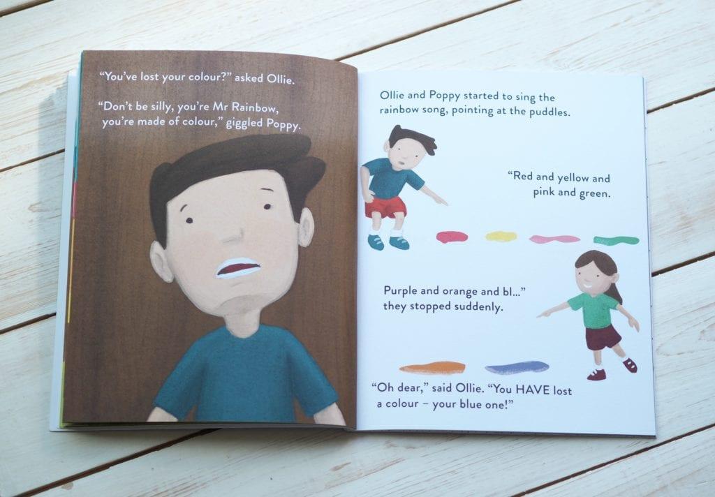 Mr. Rainbow illustrations