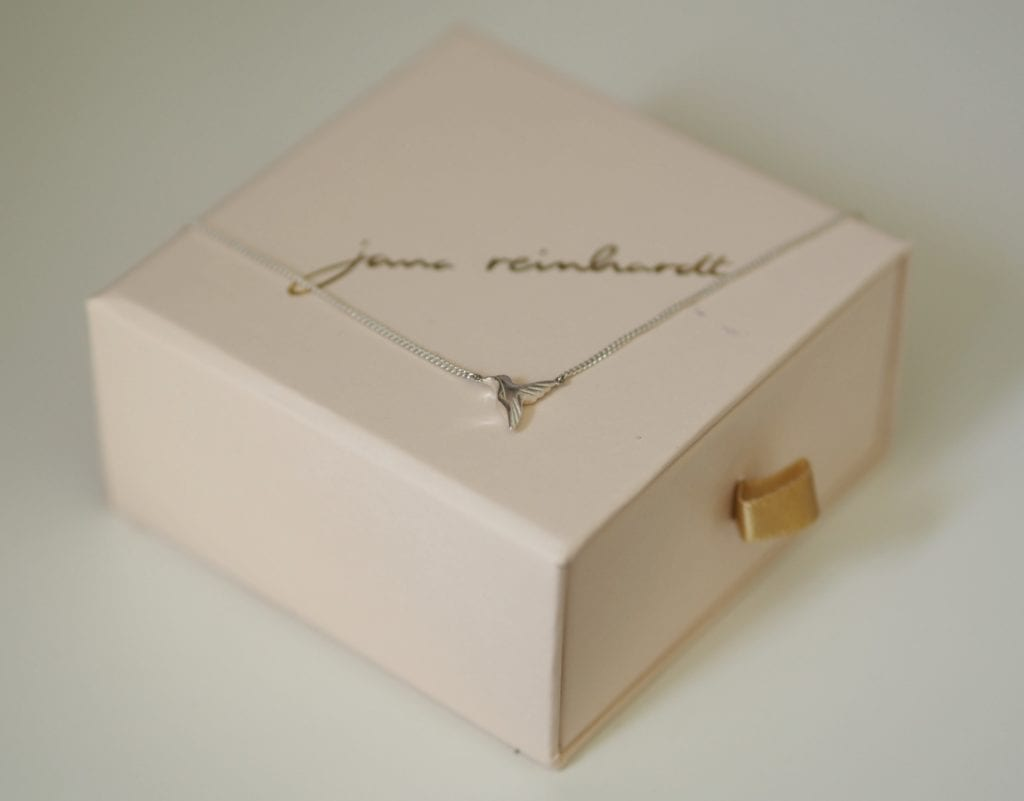 Jana Reinhardt necklace and packaging