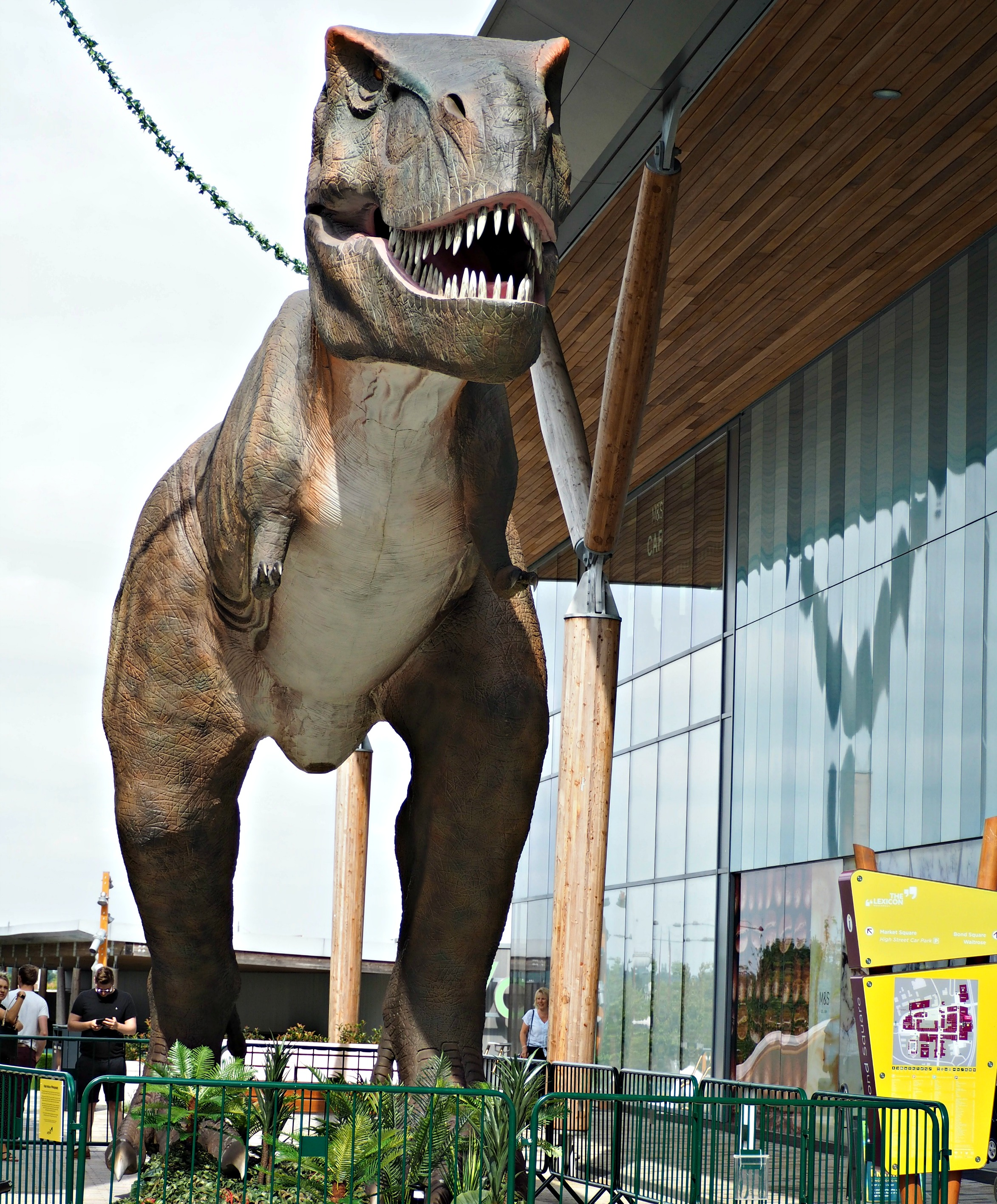 Meet T-Rex at the Lexicon and Other Summer Activities