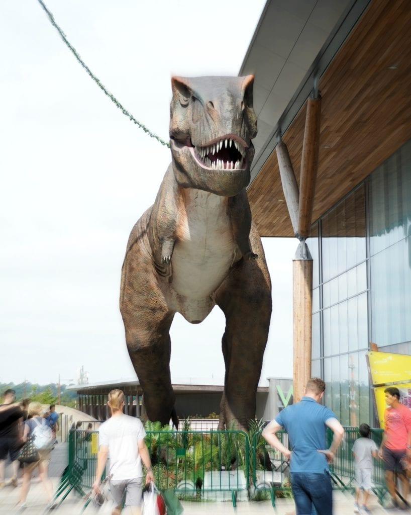 The Lexicon T-Rex Encounter