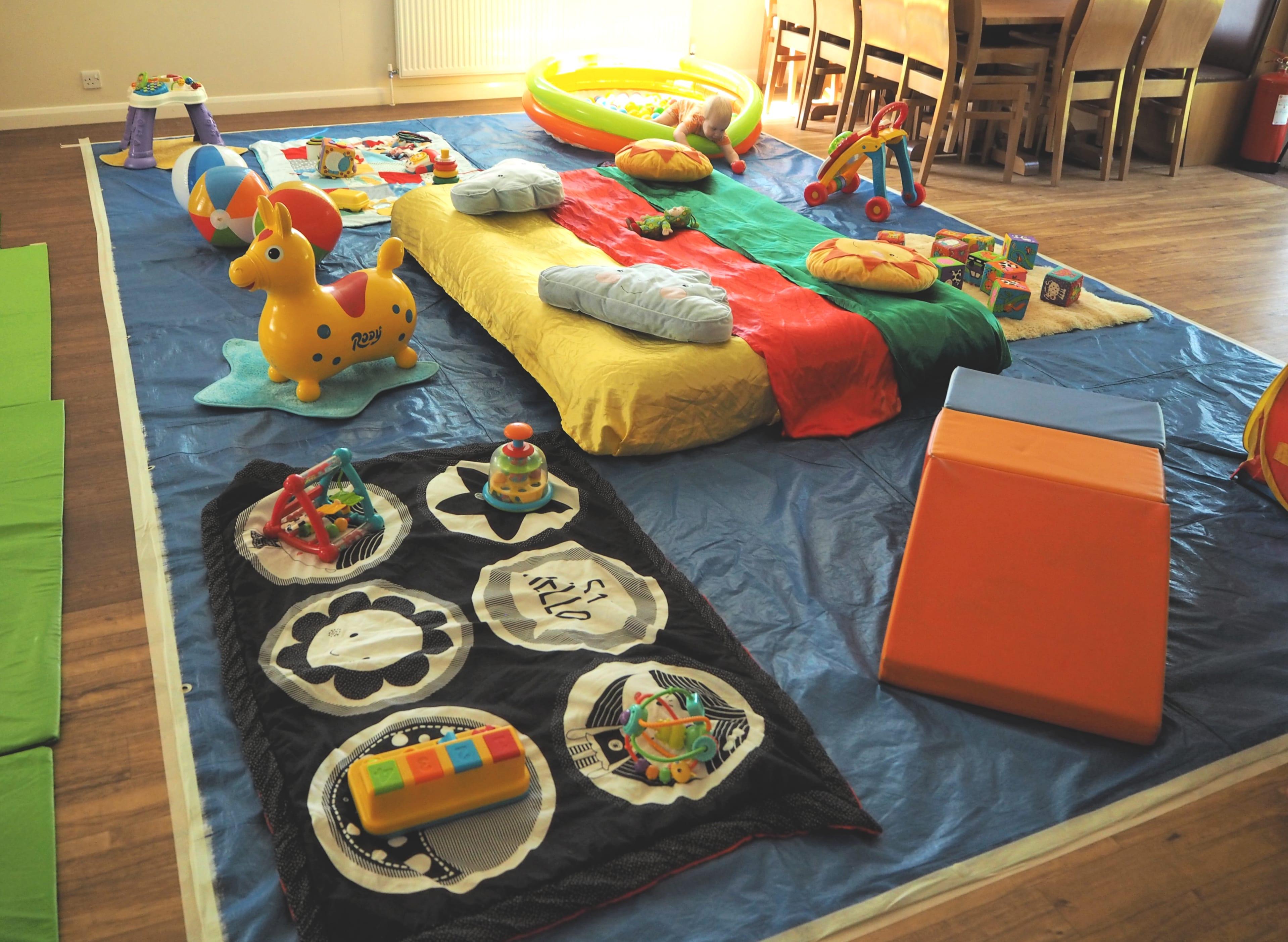 Baby Sensory play area