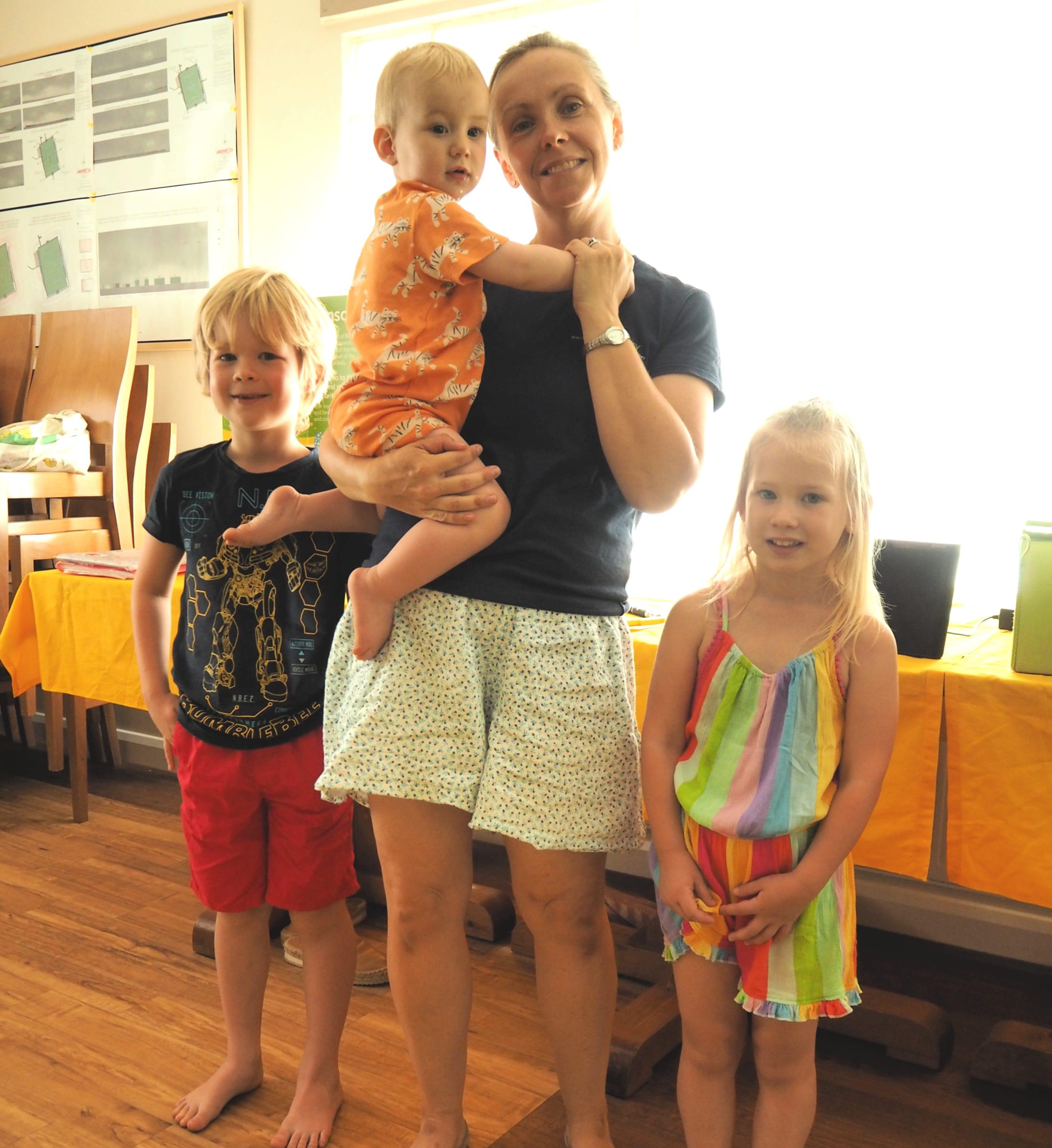 Children with Hannah Baby Sensory