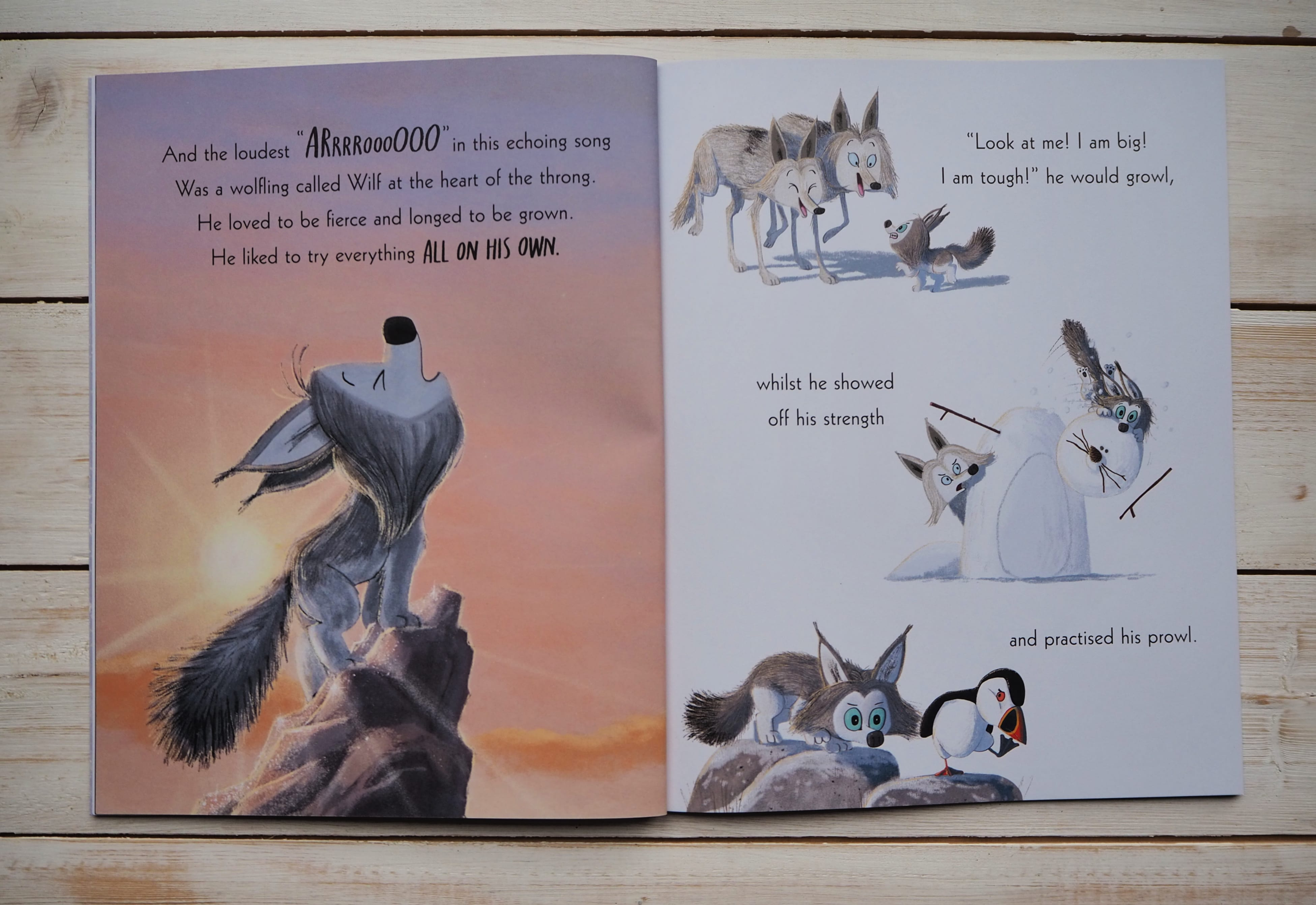 The Way of the Wolf inside pages 1
