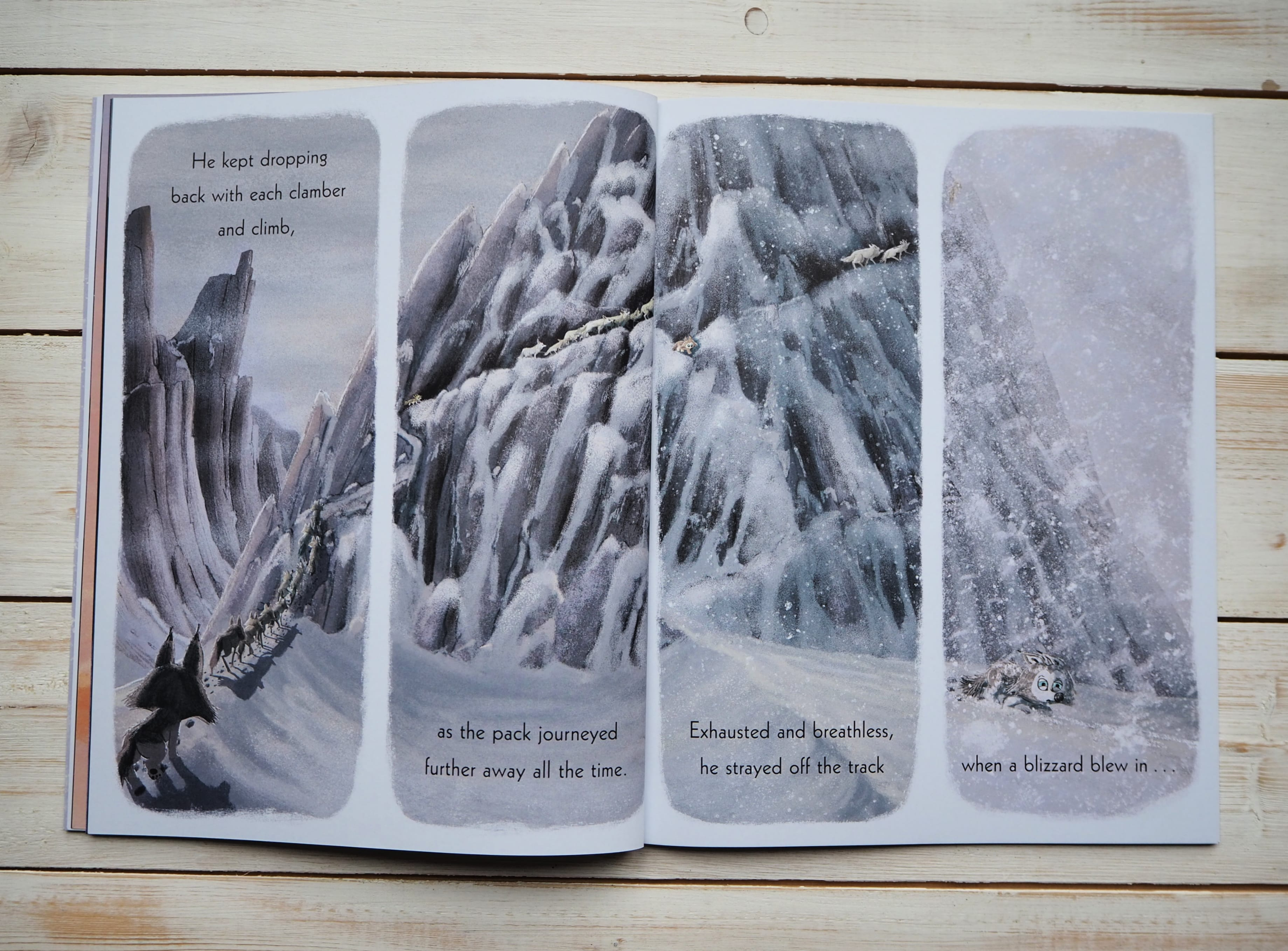 The Way of the Wolf inside pages 2