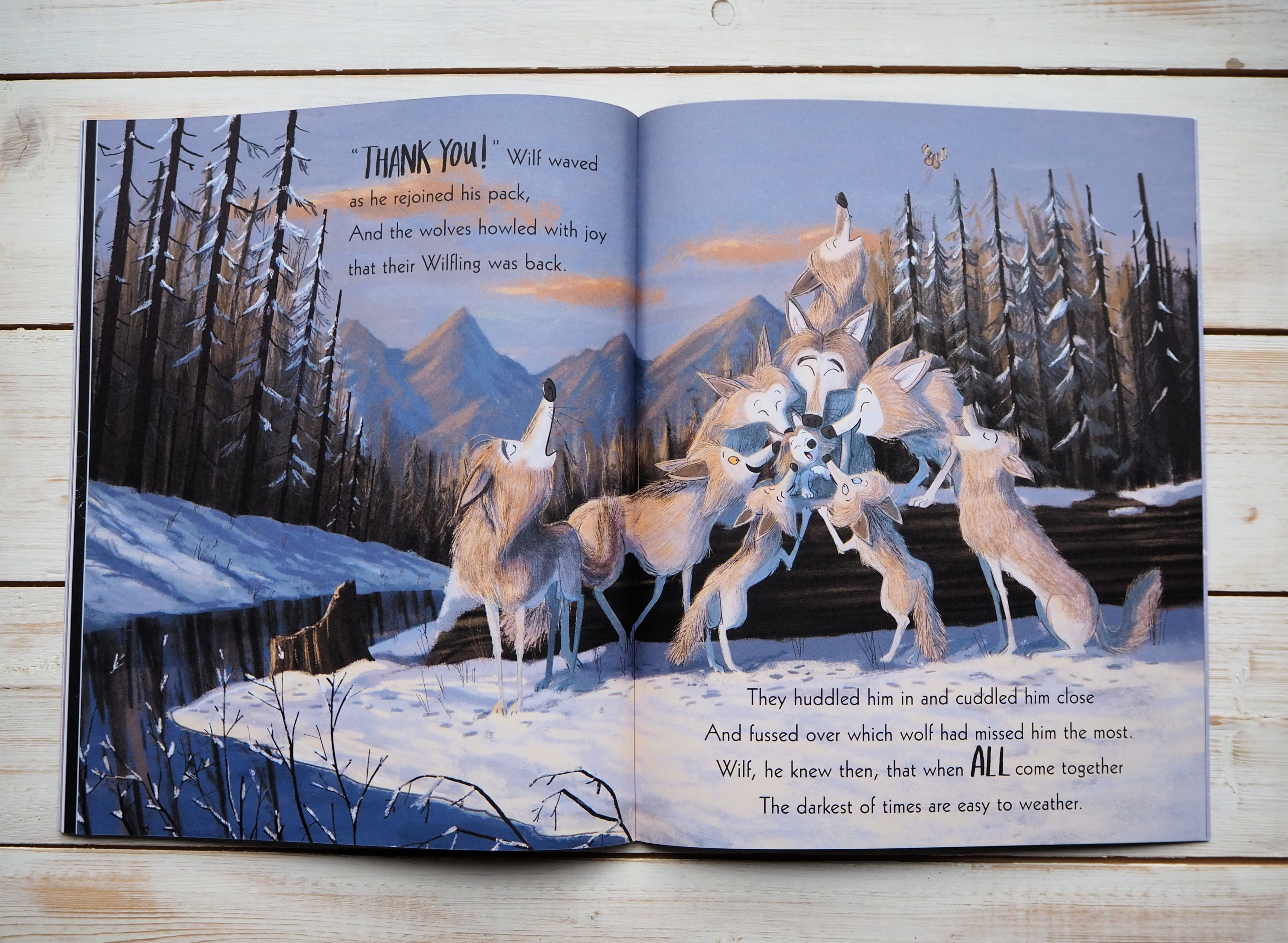 The Way of the Wolf inside pages 3