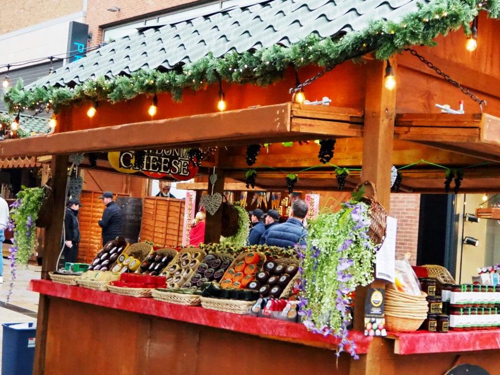 Christmas market at The Lexicon
