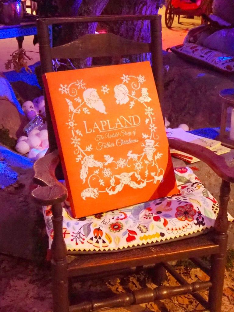 Storytelling chair