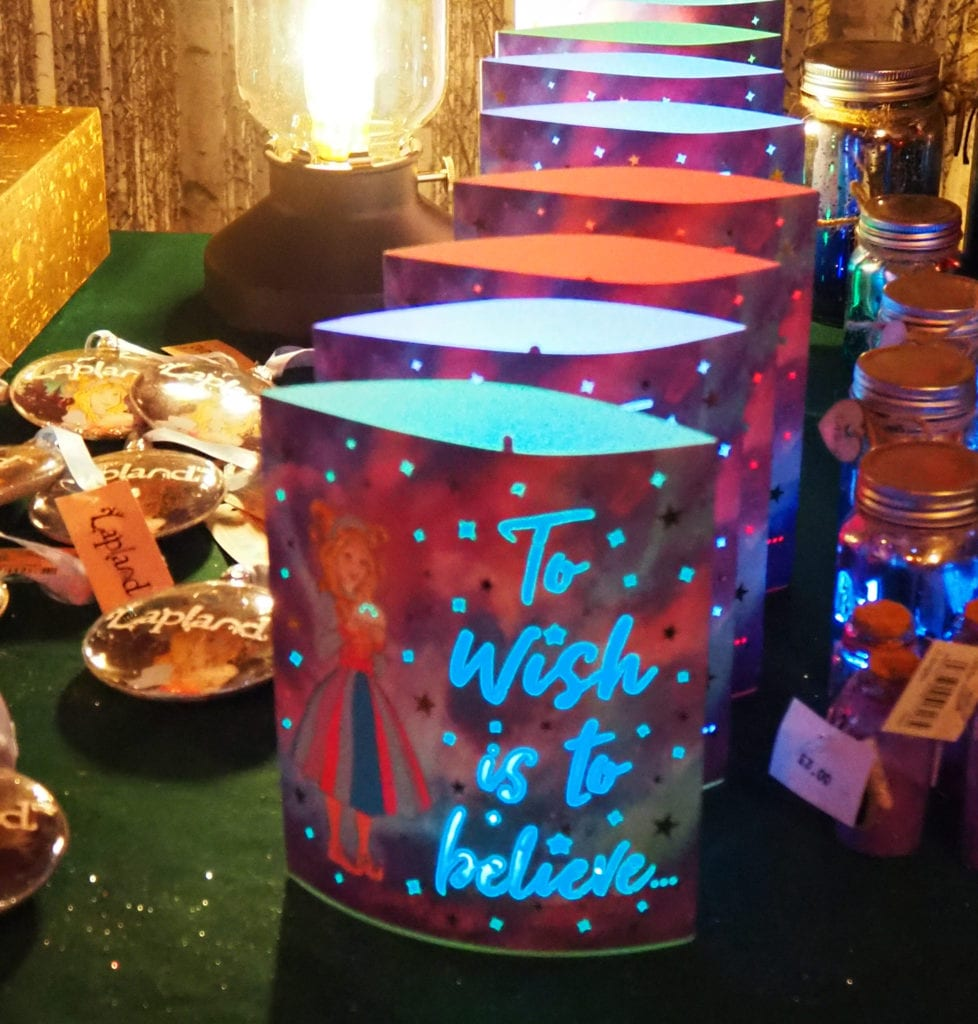 To wish is to believe candle