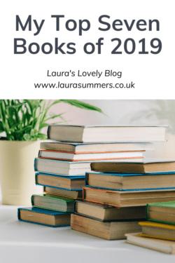 My Top ten Books of 2019 Pinterest pin