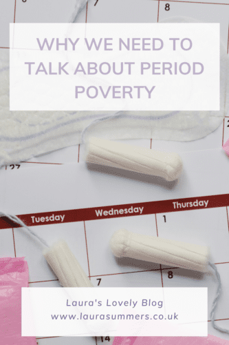 Why we need to talk about period poverty Pinterest