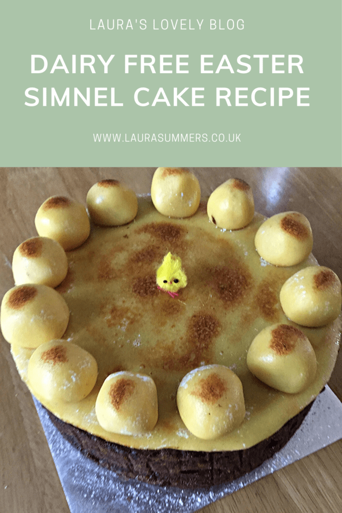 Dairy free Easter Simnel Cake Recipe