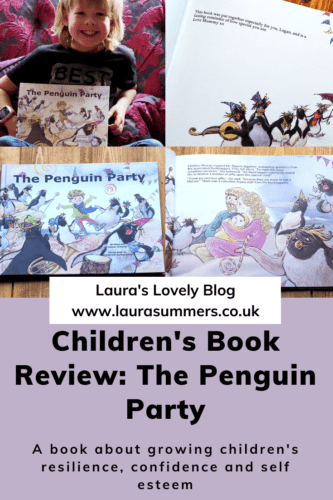 The Penguin Party Book Review Pinterest Pin