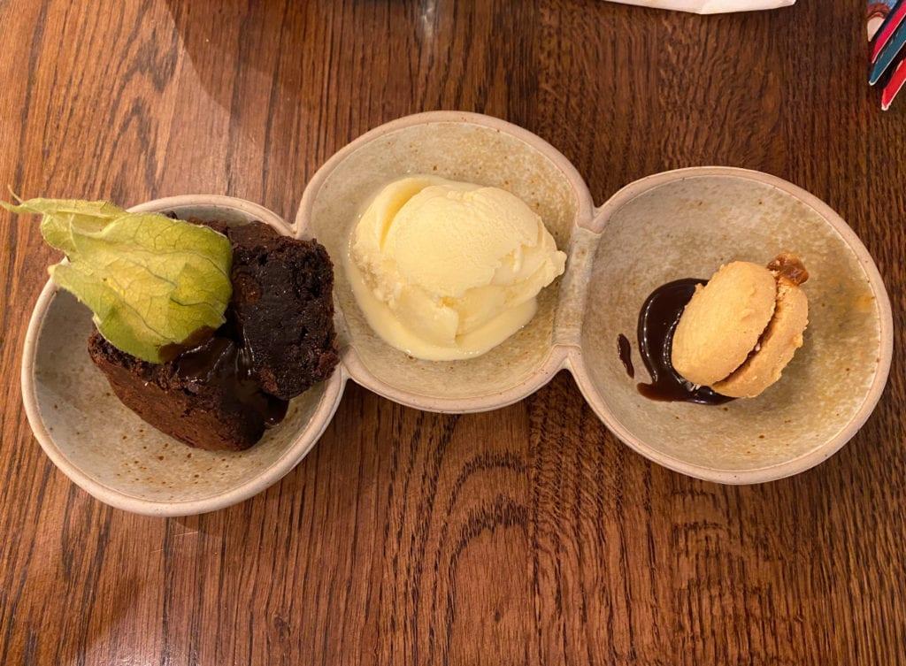 brownie desert