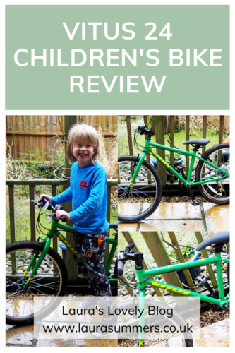 Vitus 24 Children's Bike Review Pinterest Pin