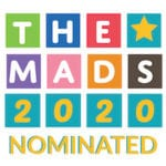 The Mads 2020 nominated badge