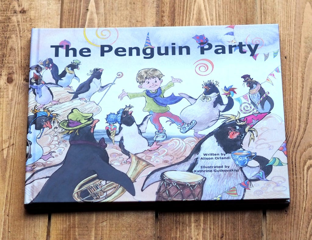 The penguin party book cover