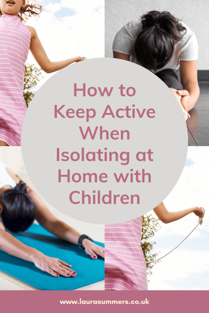 How to Keep Active When Isolating at Home. Way to get exercise and help your physical and mental fitness when you need to isolate at home.