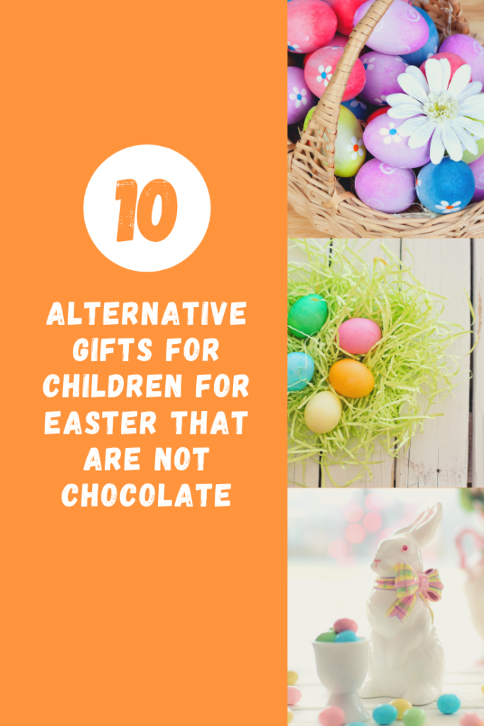 Alternative Gifts for Children for Easter that are Not Chocolate. If your children are mine, they often get a lot of chocolate for Easter. If you're looking for some alternative ideas for a gift this Easter here are a few for you.