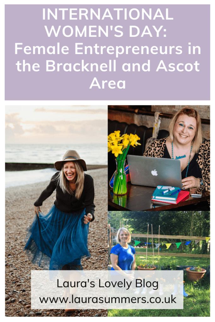International Women's Day: Female Entrepreneurs in the Bracknell and Ascot Area