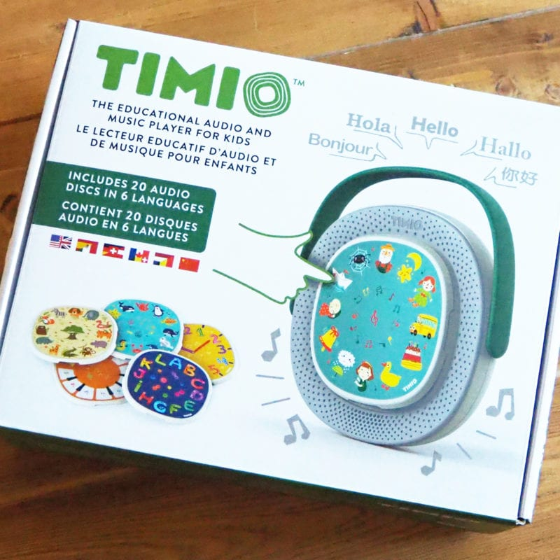 Timio Review - the box