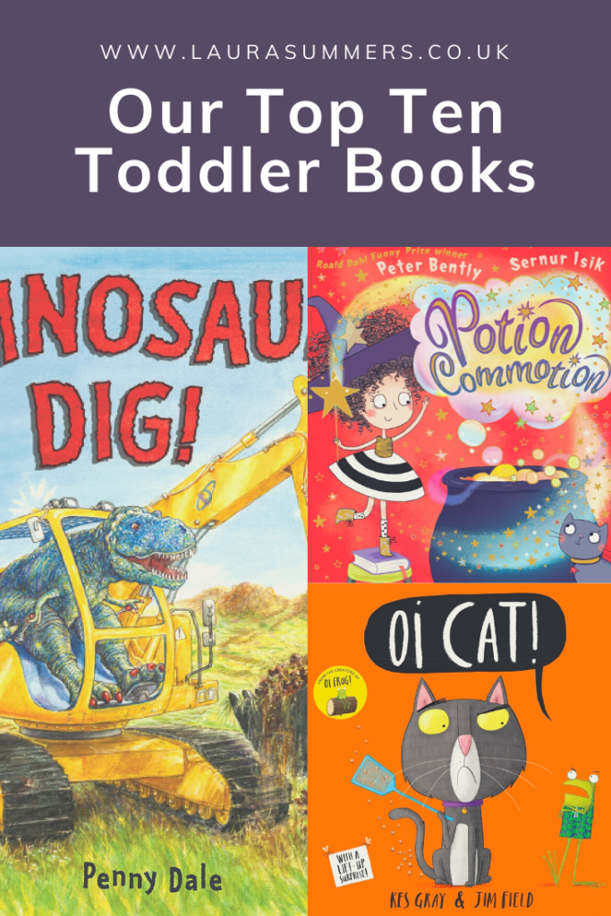Our top ten toddler books. Books that all of my children have loved, shared and kept on their bookshelves and now enjoy with their little brother.
