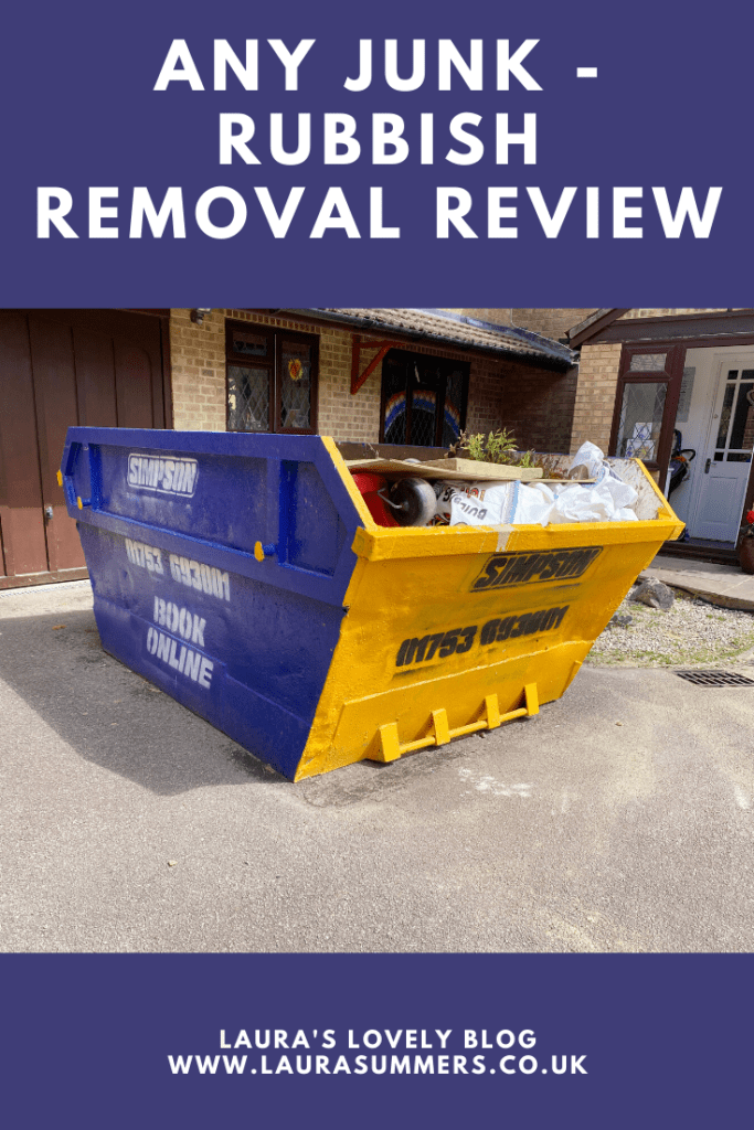 Any Junk Review. A rubbish removal service that recycles 96% of your waste. We were really pleased with their service.