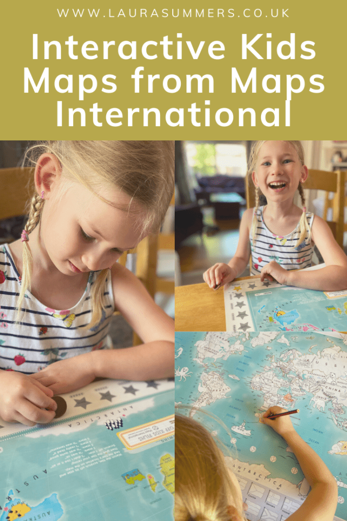 Interactive Maps from Maps International. Fun maps that help your children to learn geography without them even realising it.