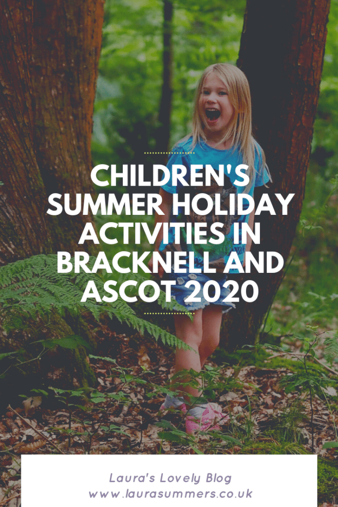 Children's Summer Holiday Activities in Bracknell and Ascot 2020. Looking for some activities for your children and family this summer holiday. Here is a list of things going on in the Bracknell and Ascot area.