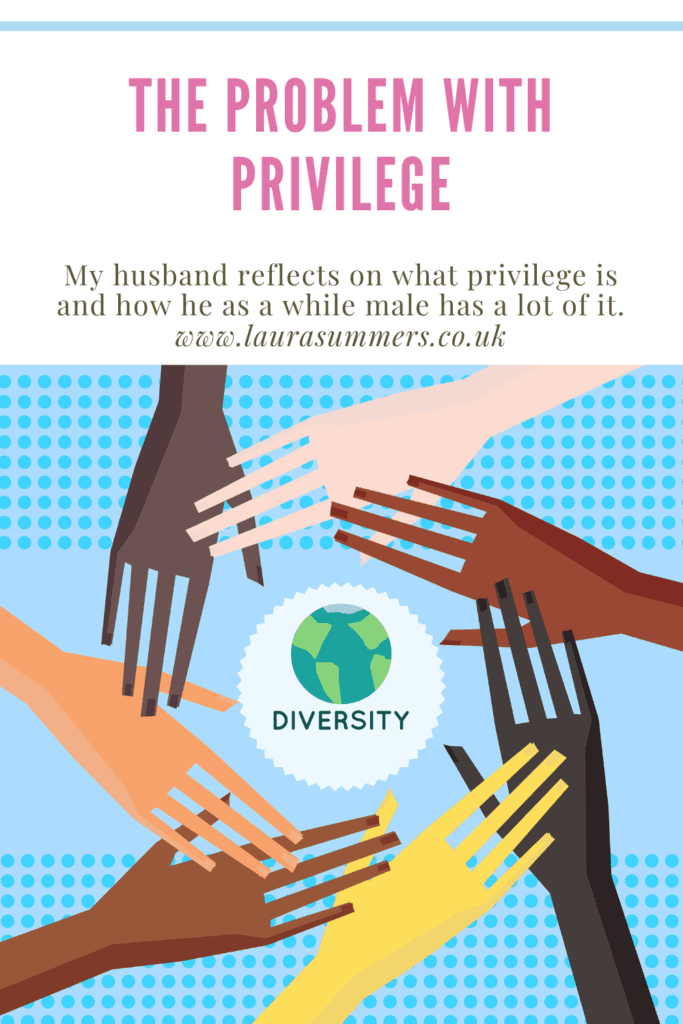 The problem with privilege. My husband reflects on what privilege and how he as a white male a lot of it and how it's time for change.