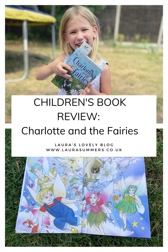 CHILDREN'S BOOK REVIEW: Charlotte and the Fairies. A book about a little girl who moves into a new house and discovers it's inhabited by fairies.