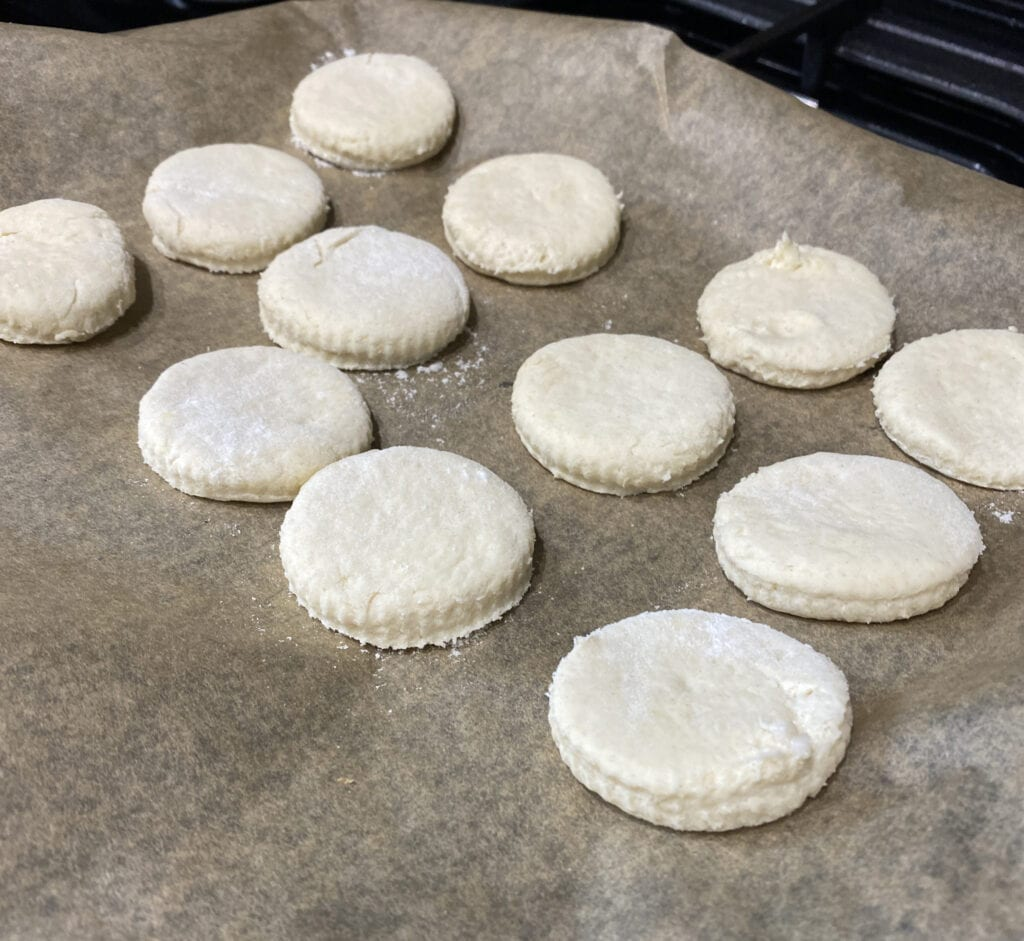 American savoury biscuits recipe