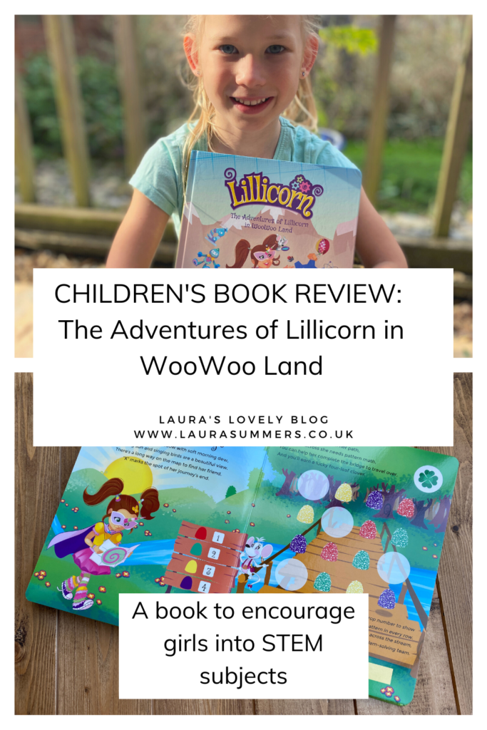 The Adventures of Lillicorn in WooWoo Land Review. A great book to encourage girls into STEM skills. With quests and activities to complete.