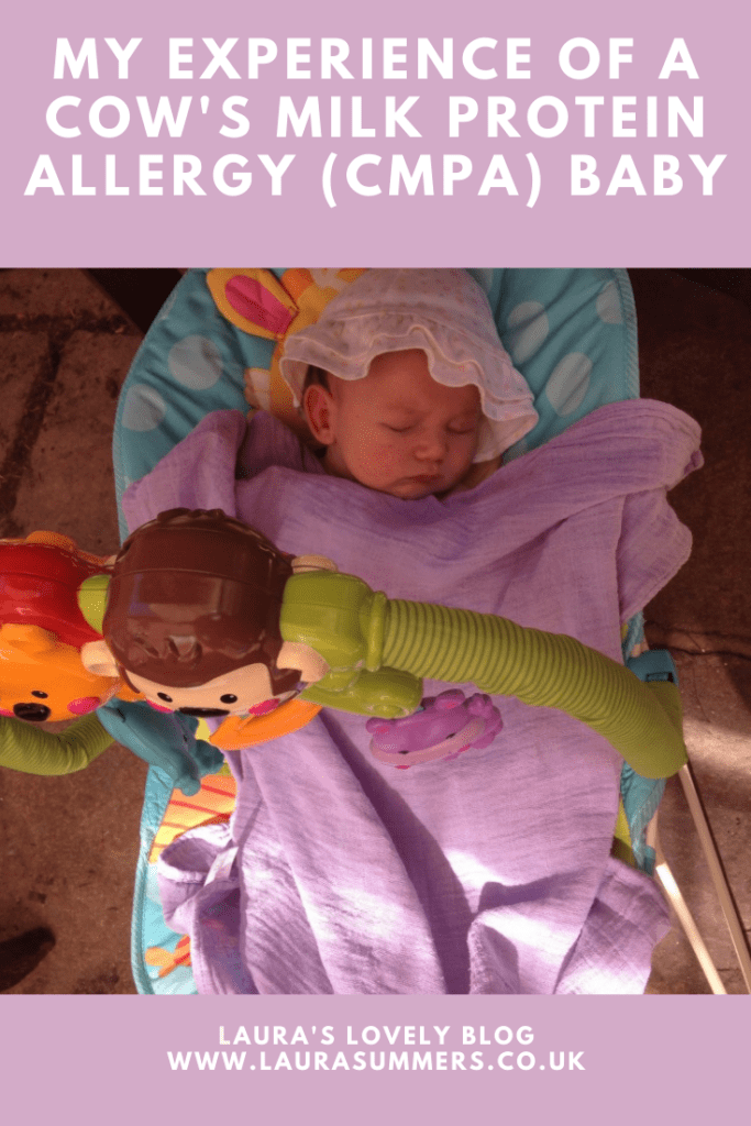 My Experience of A Cow's Milk Protein Allergy (CMPA) Baby. How my daughter was diagnosed with cow's milk protein allergy and silent reflux at 5 weeks old.