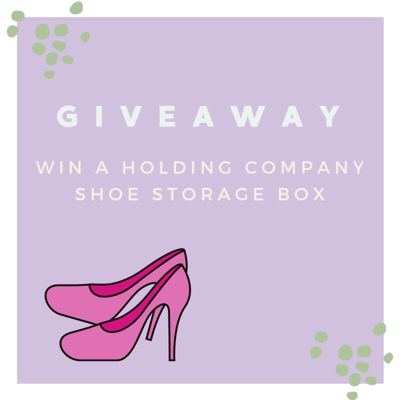 Win a Holding Company Shoe Storage Box