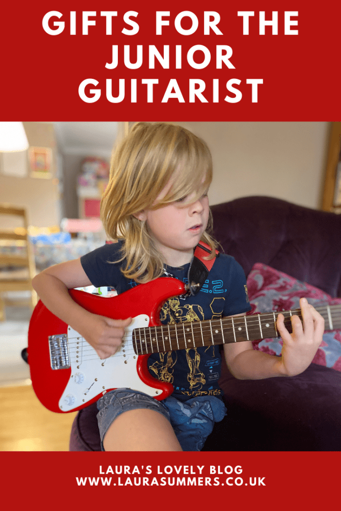 Gifts for the Junior Guitarist. They've got the guitar but what other gifts could you get for a junior guitarist.