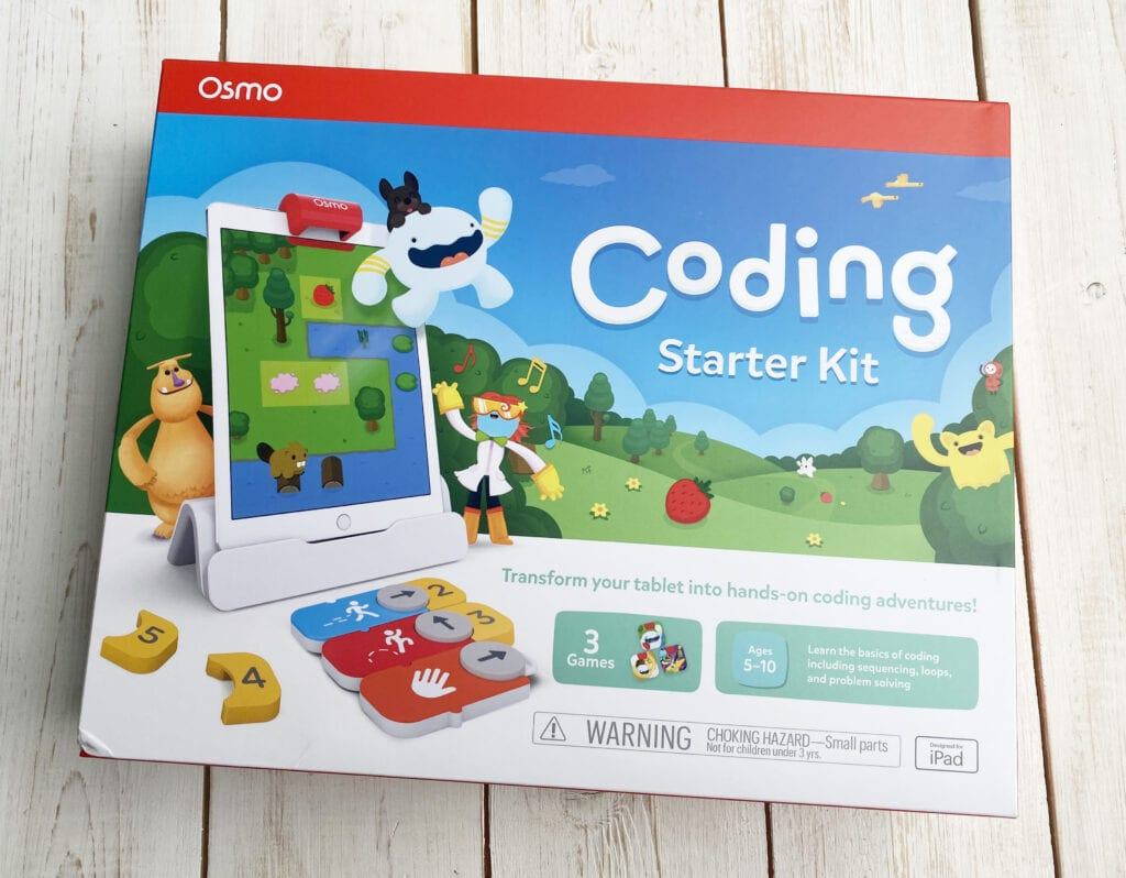 Osmo start kit packaging