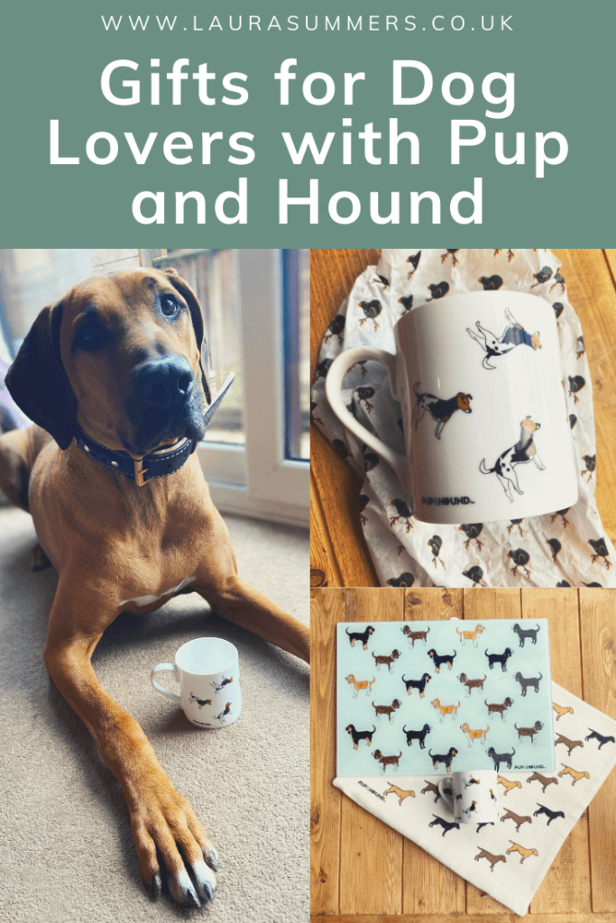 Gifts for Dog Lovers with Pup and Hound. A selection of homeware and gifts that are perfect for the dog lovers in your life.