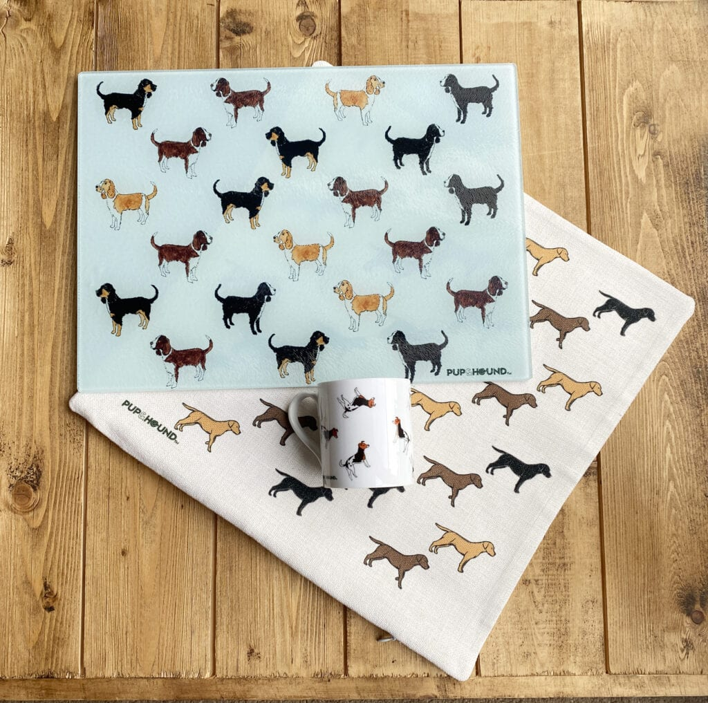 Pup and Hound doggy gifts