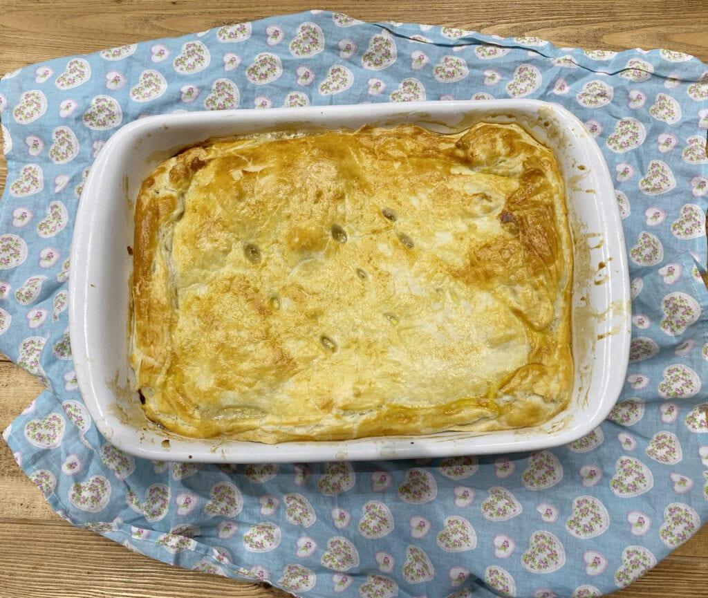 Comfort Food - Basic Chicken Pie Recipe