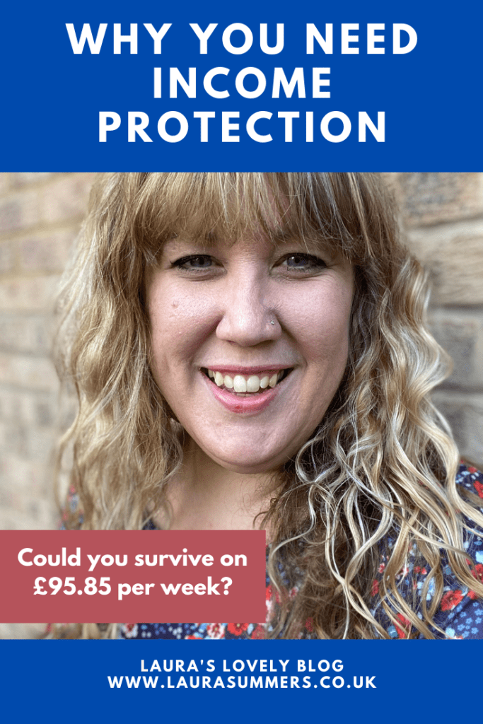 Could you survive on £95.85 per week? This was a conversation I had with @LifeSearchUK recently. As this is how much statutory sick pay is. My immediate thought was no. Our grocery bill as a family of 5 is already over £100 per week alone. What about you? Read more about it and how income protection works.