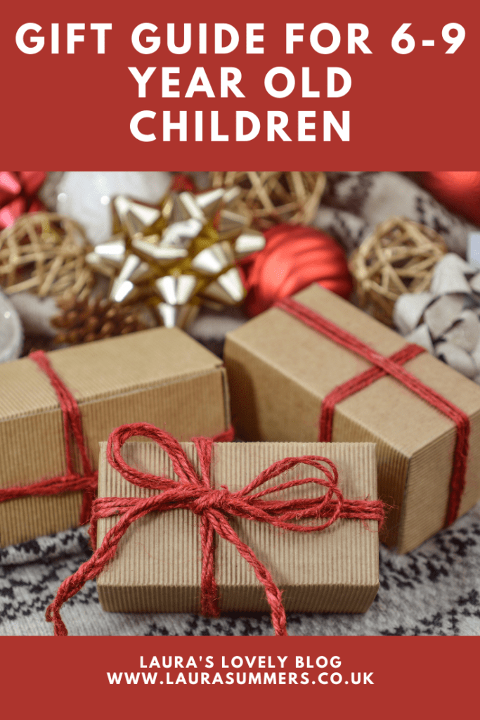 Gift Guide for 6-9 Year Old Children. Lots of gift ideas for children aged 6+ including educational, stem and craft gifts for Christmas.