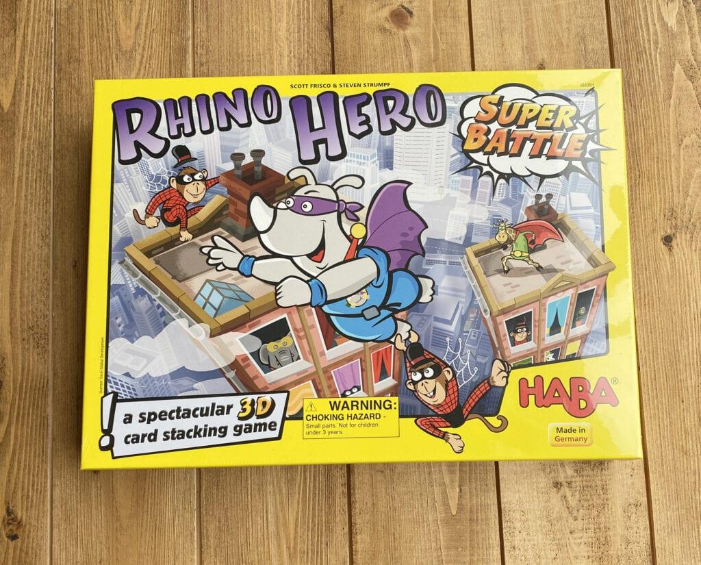 Rhino Hero board game review