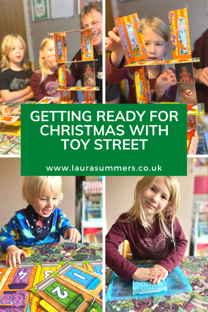 Getting Ready for Christmas with Toy Street. We were sent a bundle of games to try out and help with our Christmas shopping from Toy Street. Fun, educational and craft games that we all enjoyed.