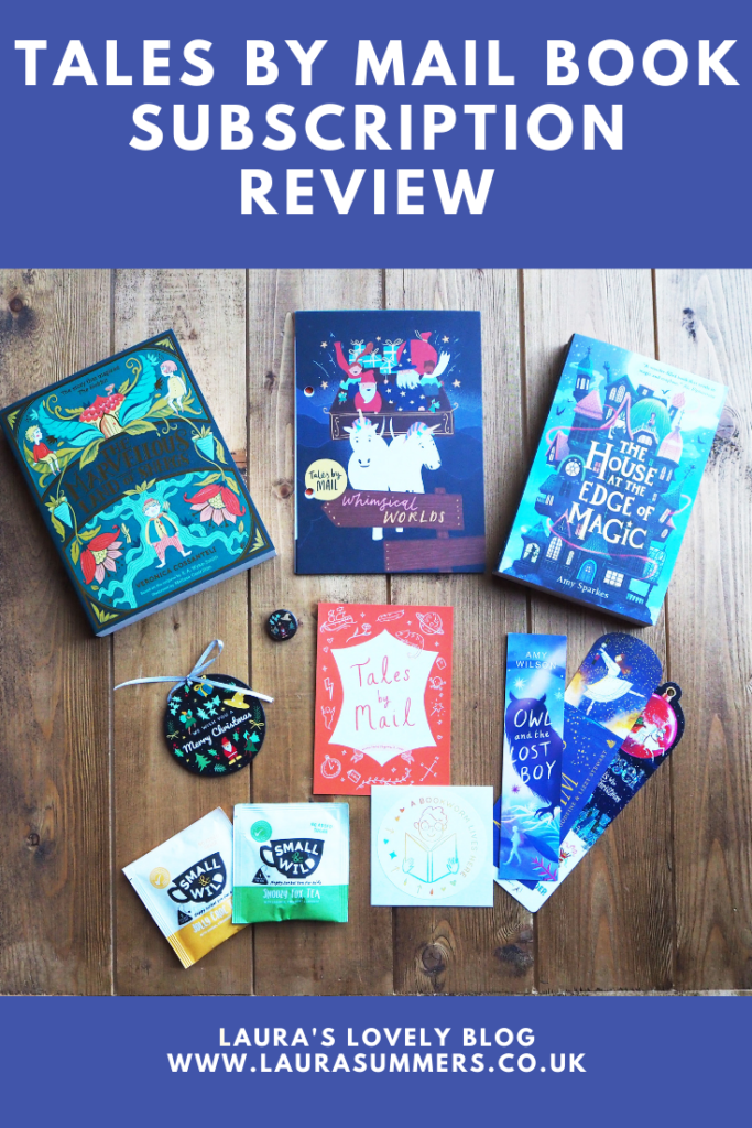 Tales by Mail Book Subscription Review and Giveaway. Tales by Mail is a bi-monthly book subscription that gets delivered to your door every two months. Aimed at children aged 8-12 years, every box contains lots of goodies, including two books, games, activities and surprises.