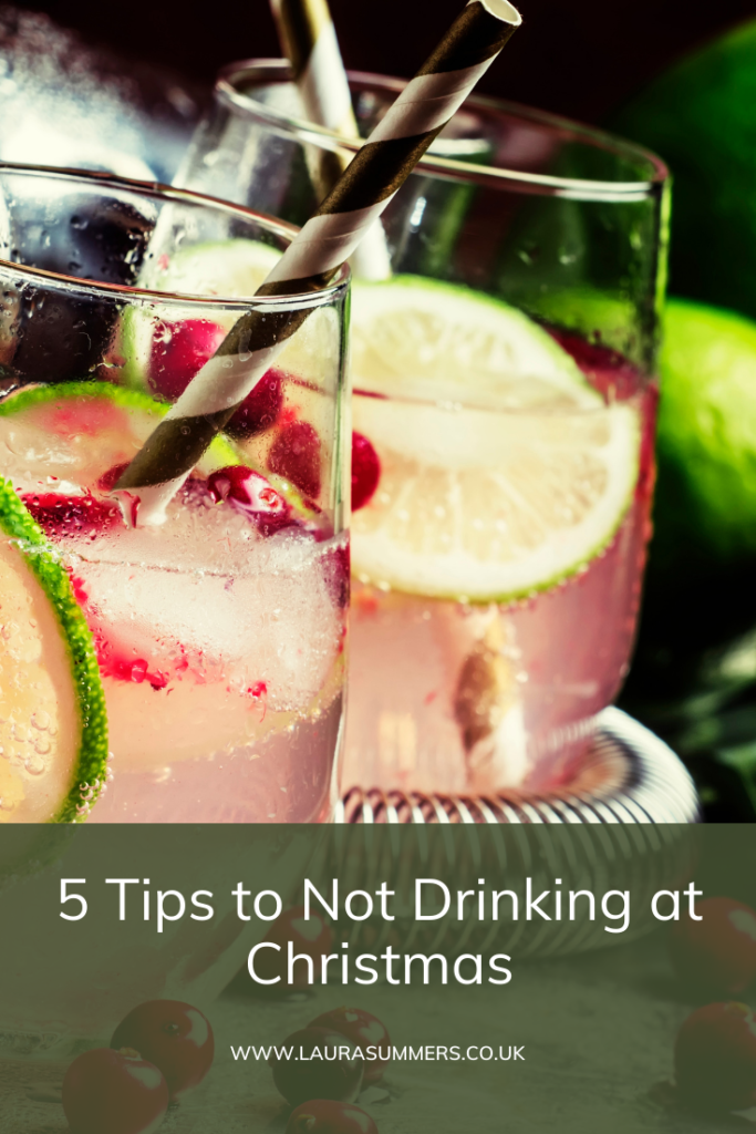 5 Tips to Not Drinking at Christmas. If you've recently given up drinking here my tips on not drinking alcohol during the holidays