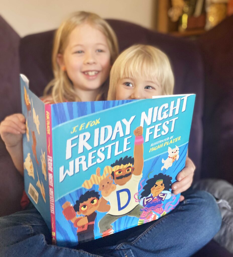 CHILDREN'S BOOK REVIEW: Friday Night Wrestlefest by J.F. Fox