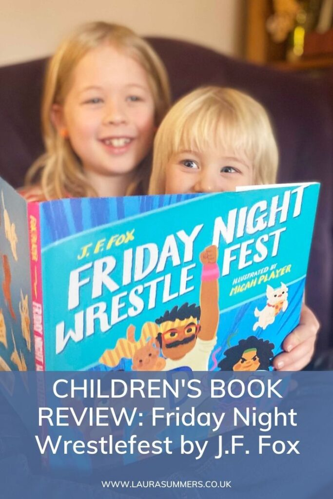 CHILDREN'S BOOK REVIEW: Friday Night Wrestlefest by J.F. Fox. A fun, quirky and colourful book about a time of day parents know well.